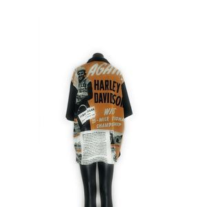 Harley Davidson Button Up Embroidered CHAMPIONSHIP